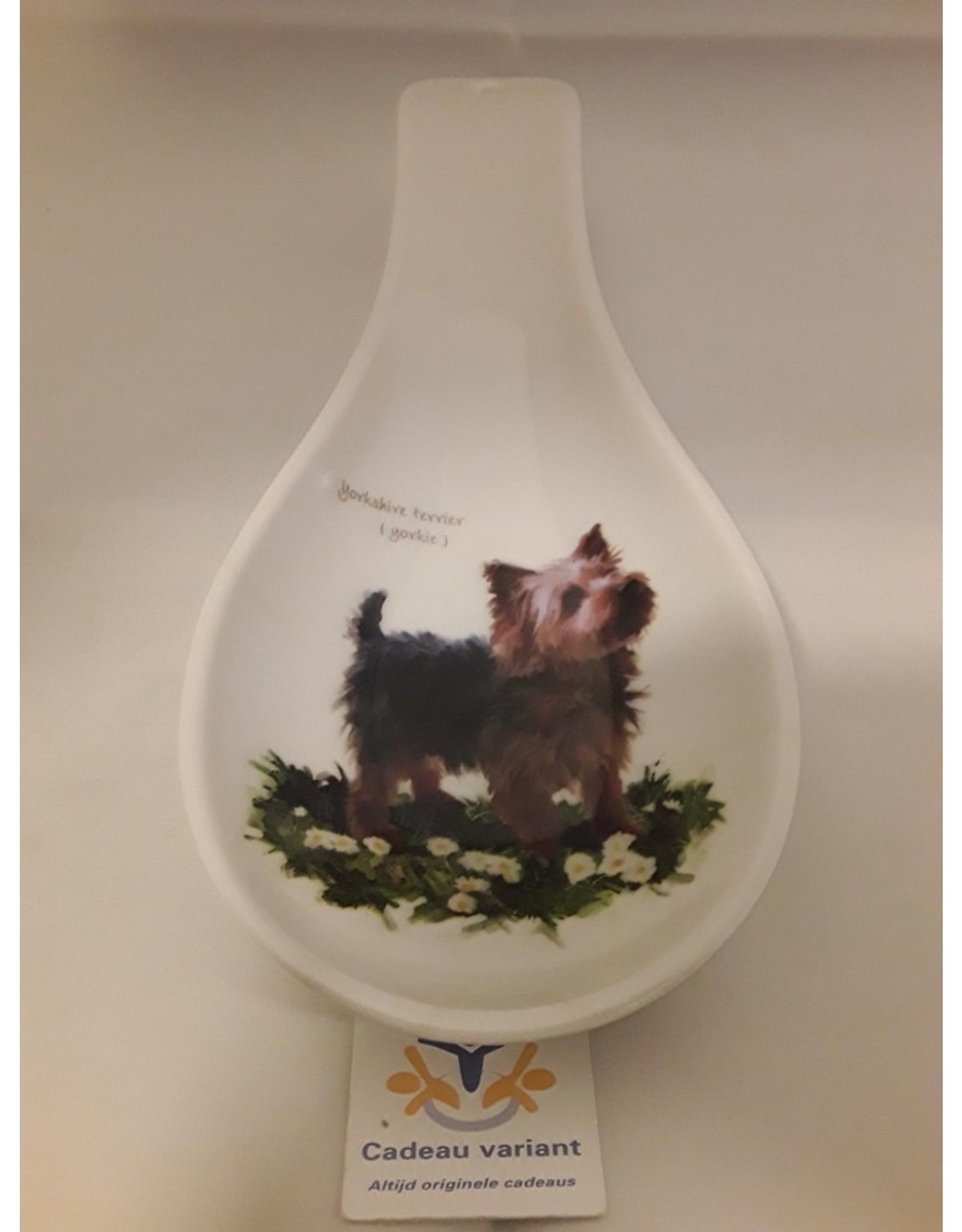 Lepelhouder Yorkshire terrier