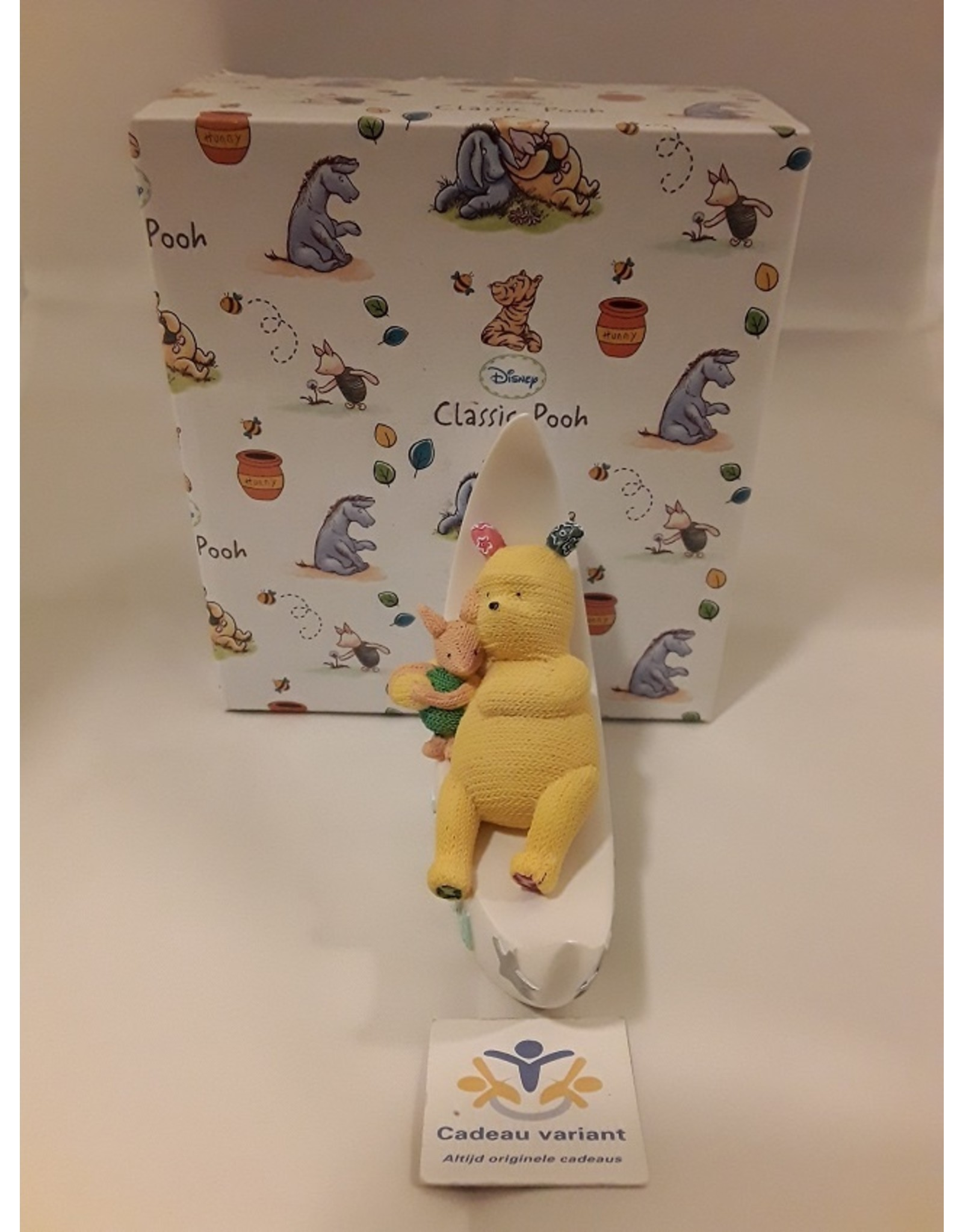 Pooh en piglet maan beeld baby