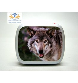 Wolf pepermunt doosje