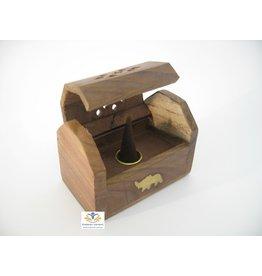 Wierook kegelbrander hout