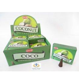 HEM Coconut (kokos) wierook kegel Hem