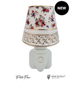 New Dutch Stekkerlamp kleine rozen