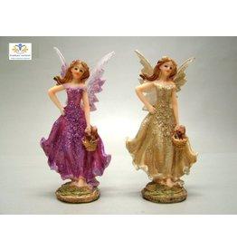 Elf beeld (fairy) Paars