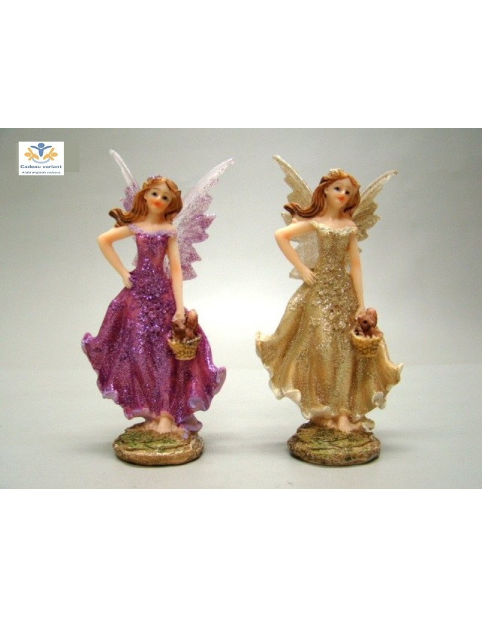 Elf beeld (fairy) goud