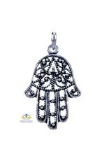 Hand van Fatima hanger zilver