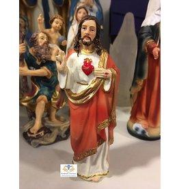 Beeld Jezus heilig hart 12 cm
