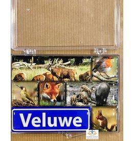Souvenir Holland Magneet set Veluwe