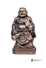 Klein Boeddha beeld waaier en kruik