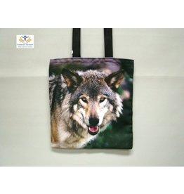 Wolf boodschappen tas