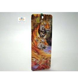Boekenlegger tijger 3D