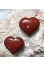 Jaspis rood hart 4 cm