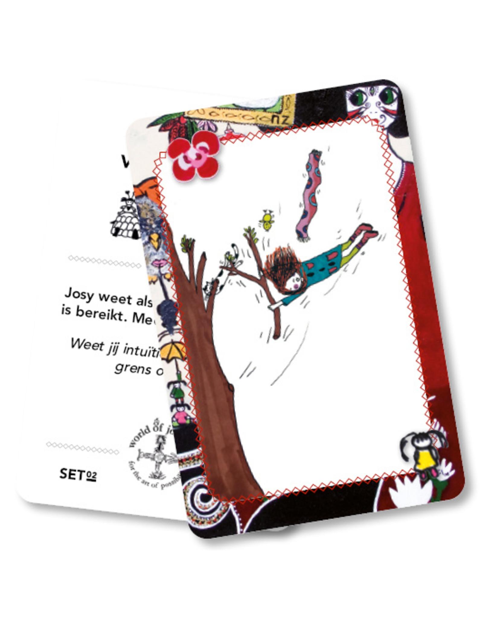 Josy kaarten leven in balans
