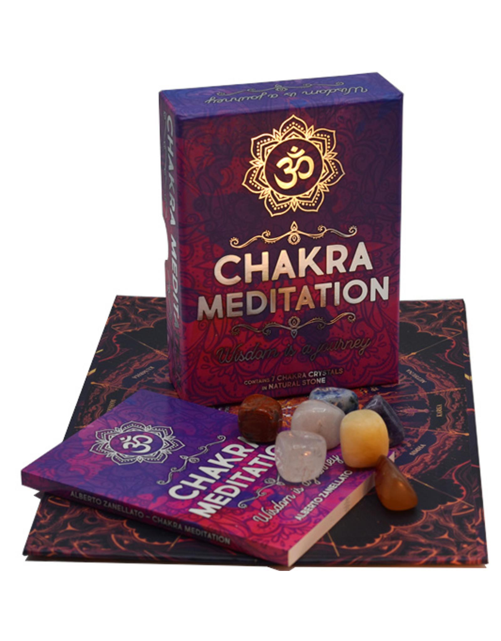 Chakra meditation set Engels