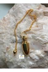 Pendel metaal goudkleur