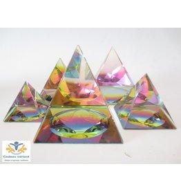 Kristallen piramide  4 cm