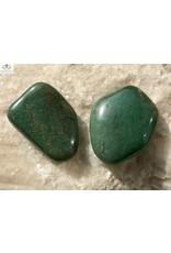 Aventurijn groen edelsteen trommelsteen