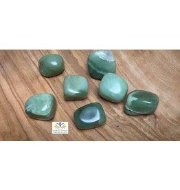 Jade groen edelsteen