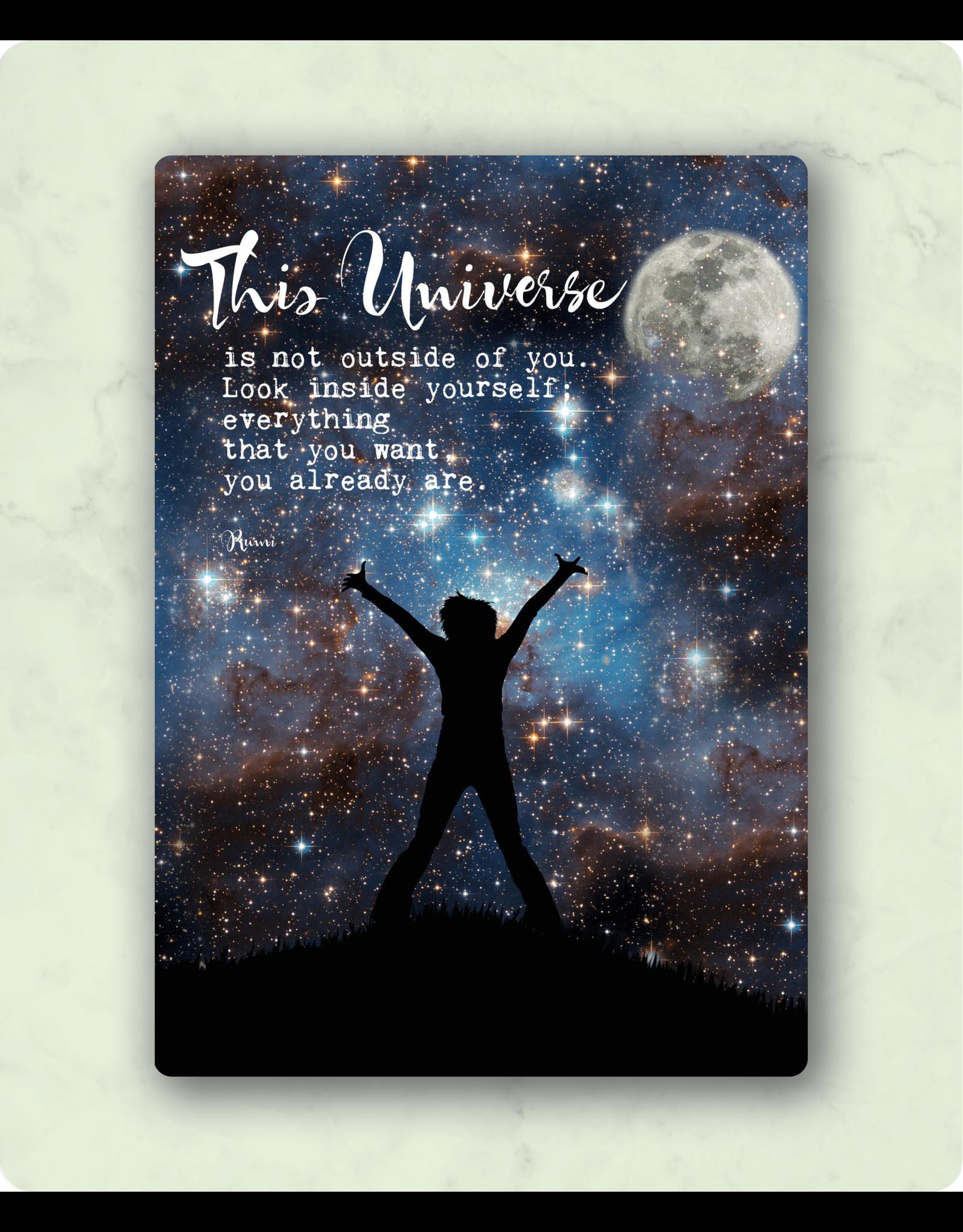 Zintenz This universe  briefkaart
