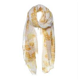 Biba Biba sjaal 73148 geel oker