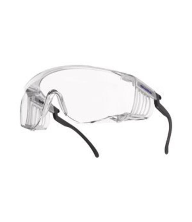 BOLLÉ Safety Bollé Safety Eyewear Model Squale Coverspecs Clear Lens