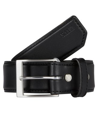 5.11 Leather Casual Belt Black