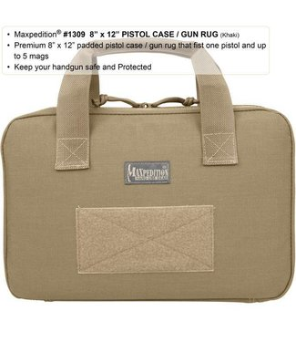 Maxpedition 8x12 Inch Pistol Case / Gun Rug KHAKI