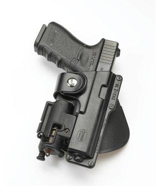 FOBUS Belt Rotating Holster Glock 19 + light Rechts