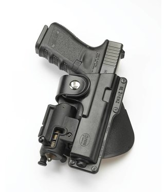 FOBUS Fobus Rotating Belt Slide Tactical Holster for Glock 19 + Light Right
