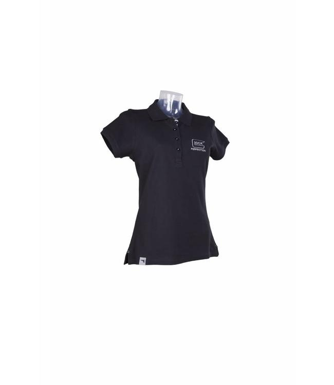Glock Polo Silver Flag Line Women