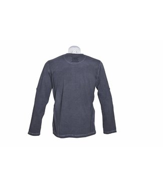 Glock T-shirt Perfection Long Sleeve Dye Grey