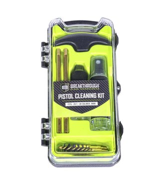 Breakthrough Vision Series Pistol Cleaning Kit - .357Cal/ .38Cal/ 9mm