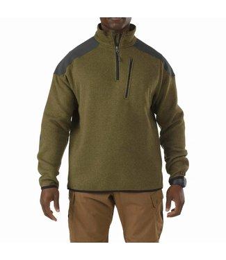 5.11 Tactical 1/4 Zipper Sweater  Field