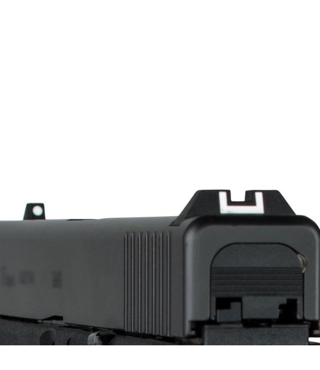 Glock Rear Sight Adjustable Polymer with Screwdriver