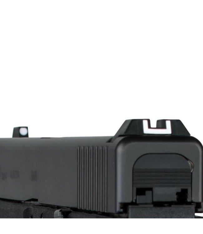 Glock Steel rear sight