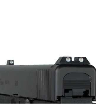 Glock Steel self-luminescent slim rear sight