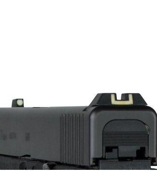 Glock Steel luminescent slim rear sight
