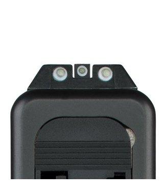 Glock Front night sight 4.1 steel set self-luminescent