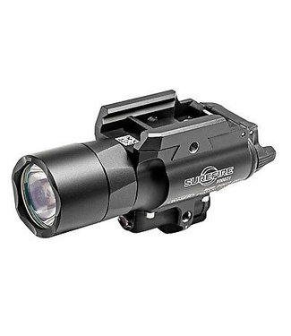 Surefire X400 Ultra 6 VDC LED 600 Lumen 500 nm Red Laser Black