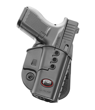 FOBUS Fobus Paddle Holster for Glock 43 Right