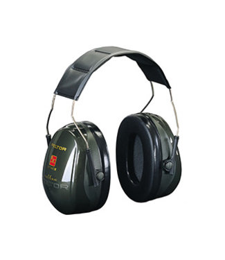 3M Peltor Peltor Optime II Foldable Passive Earmuffs Green