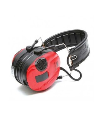 3M Peltor Peltor SportTac Active Noise Reduction Earmuffs Black and Red