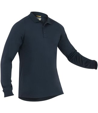 First Tactical Men's Performance Polo Long Sleeve Midnight Navy