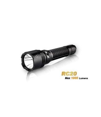 Fenix Rechargeable Flashlight RC20 4 Modes 1000 Lumen