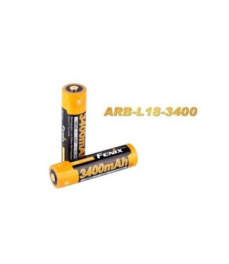 Fenix Rechargeable Li-ion Battery 3400 mAh 3,6 VDC