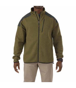5.11 Tactical Full ZIP Sweater Field Green Size Medium