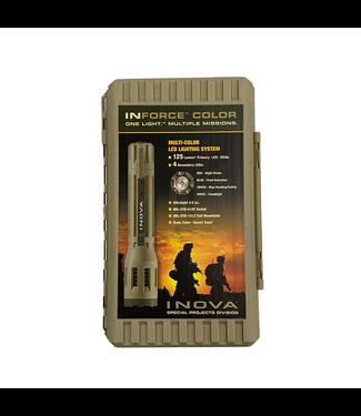 Inforce Multi-Function Led Flashlight 6 VDC 150 Lumen Desert Sand