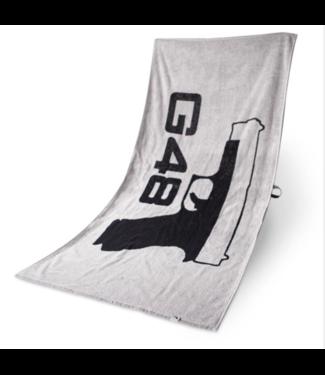 Glock Bath Towel G48 Grey and Black