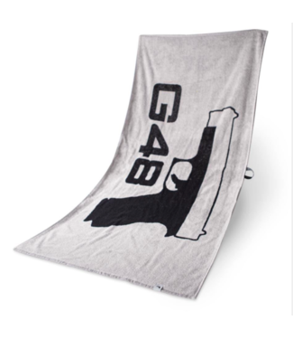 Glock Glock Bath Towel G48 Grey and Black