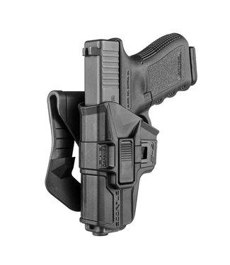 FAB Scorpus Model M1 Glock 9mm Level 2 Retention Holster (Paddle+ Belt)