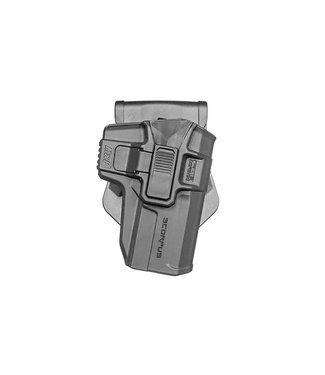 FAB Scorpus Model M1 S&W MP 9mm Level 2 Retention Holster (Paddle+ Belt)
